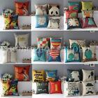 Retro Vintage Home Decorative Throw Pillow Case Cushion Cover Multiple Styles