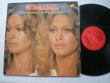 MARISOL Y LOS BOHEMIOS PARAGUAYOS SPAIN LP PUZZLE 1981