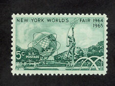 1244 New York World's Fair US Single Mint/nh (Free shipping offer)