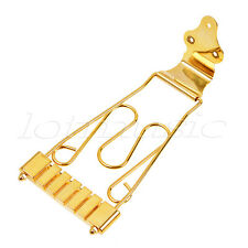 Guitar Tailpiece Trapeze for 6 String Jazz Archtop Hollow Body Guitar Parts Gold