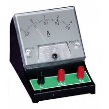 Bench Top DC Ammeter 0-600mA/0-3A Analogue Meter Education Schools Colleges etc