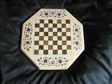 FANTASTIC VINTAGE INLAID ORNATE CHESS BOARD