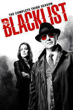 The Blacklist: The Complete Third Season 3 (DVD, 2016, 5-Disc Set)