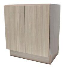 "36"" European Style Bathroom Vanity / Plywood Door Cabinet - Birch Wood pattern"