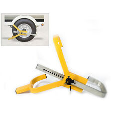 Car Vehicle Securit Safety Wheel Clamp Wheel Lock With 2 Key Boat Trailer Camper