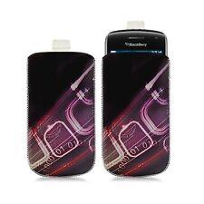 Housse coque étui pochette pour BlackBerry Curve 9380 avec motif HF07
