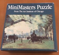 Mini Masters Puzzle Claude Monet Arrival Of The Normandy Train 81 Pieces