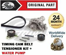 FOR CITROEN C8 2.0 2.2 PETROL 2002--> TIMING CAM BELT TENSIONER KIT + WATER PUMP
