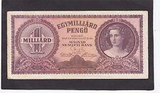 Hungary 1 Milliard Pengö 1946 P-125   VF