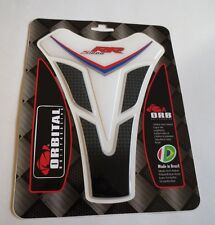 "ORBITAL TANK PROTECTOR PAD - BMW S1000 RR - WHITE/BLACK/RED/BLUE - 5.6"" x 7.2"""