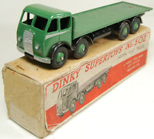 1947 DINKY #502 FODEN FLAT TRUCK, GREEN AND BLACK EXC+/ near-MINT W/ VG BOX