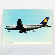 Lufthansa - Airbus A300 B2 - Aircraft Postcard - Top Quality