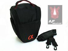 V17A Case Bag w/ Strap for Sony Alpha A33 A35 A37 A55 A57 A58 A65 A68 A77 II