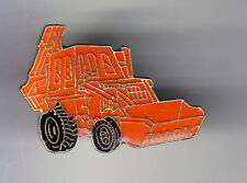 RARE PINS PIN'S .. AGRICULTURE TRACTEUR TRACTOR PELLE CAT CATERPILLAR ORANGE ~BT