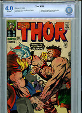 Thor #126 Silver Age Marvel Comics CBCS 4.0 VG 1966 1st Thor after JIM (#125)