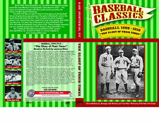 "DVD ""The Glory of their Times"" Baseball 1900-1918, Cobb, Ruth, Wagner, McGraw"