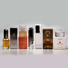 Mixed Lot 5 Mini Perfume Miniature Bottle for Women New in Box - 128
