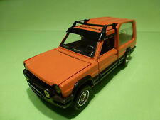 MEBETOYS 6747 MATRA SIMCA RANCHO - ORANGE 1:25 - EXCELLENT CONDITION