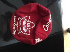 Roots 2002 Salt Lake City Team Canada Small Poor Boy / Cap / Hat, Olympics