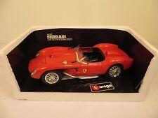 Bburago FERRARI 250 Testa Rossa 1957 1/18 Red #3007 Diecast Italy Rare Car Box