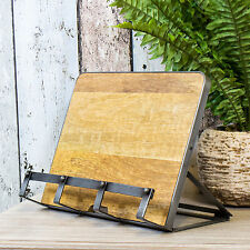 Industrial Recipe Cookbook iPad Tablet Stand Rest Holder Cookery Book Baking