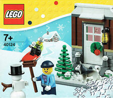 LEGO® City Set 40124 Winterspass mit Husky - Winter Fun NEU OV