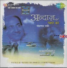 MOHAMMAD RAFI - ANDAAZ PYAR KA - BRAND NEW 2 CDS - FREE UK POST