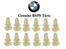 BMW E32 E34 E36 E38 E39 E46 E65 E66 Set of 12 Clips for Door Sill Strip Genuine