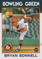 2016 Bowling Green Hot Rods Bryan Bonnell RC Rookie Rays