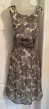 BNWT Phase Eight  Floral  Print  Fit and Flare Occasion Dress size 14
