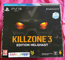 KILLZONE 3 EDITION HELGHAST SONY PS3 NEUF VERSION 100% PAL FRANCAISE
