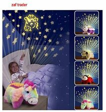 KIDS NIGHT LIGHT- CUDDLY LIGHT UP BABY UNICORN WITH SOFT PLAY SENSORY ADHT RELAX