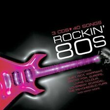 Rockin' 80's [Sony] [Box] by Various Artists (CD, Feb-2004, 3 Discs, Sony...