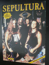 BIOGRAPHIE SEPULTURA RARISSIME 1995 EN FRANCAIS + PAROLES/CHANSONS MUSIC ROCK