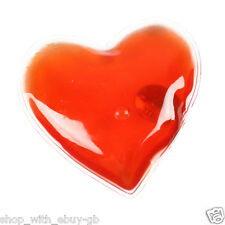 1 RED HEART GEL HAND WARMER - REUSABLE INSTANT HEAT PACK - VALENTINES GIFT