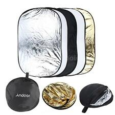 "24""X36"" 60X90CM 5in1 Multi Collapsible Portable Photo Light Reflector Disc Q5LY"