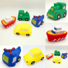 Baby Toddler Vehicles Bathtime Floating Squeaky Sqeeze Bath Toys Water Play Hot