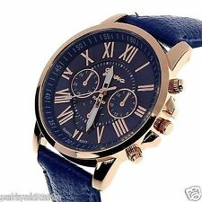 New Fashion Faux Leather Analog Quartz Wrist Watch for Men/Women In BOX PACKING