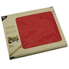 600 rote Tischsets Tissue ROYAL 30 cm x 40 cm Platzsets Tischdeckchen