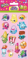 4 Sheets Shopkins Stickers Party Favors Teacher Supply Rewards