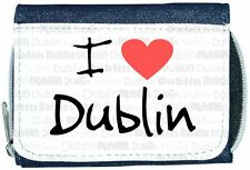 I Love Heart Dublin Denim Wallet