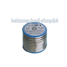 Soft solder soldering wire Fitting solder No. 3, Soldering Copper pipes