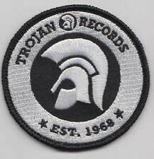 TROJAN RECORDS SINCE 1968 PATCH (WHITE) (MBP 184)