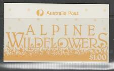 AUSTRALIA SGSB56 1986 ALPINE WILDFLOWERS $1 BOOKLET MNH
