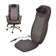 HOMCOM Massage Cushion Chair Massagers Seat Heated Massaging  Vibrating Back NEW
