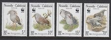BIRDS : NEW CALEDONIA 1998 The Kagu/WWF set  SG 1150-3MNH