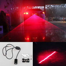 Red Car Led Laser Fog Light Rear Anti-Collision Brake Tail lights Warning Lamp