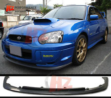 SUBARU IMPREZA BLOB EYE WRX STI V LTD TYPE FRONT BUMPER LIP  2003 TO 2005 | PU