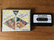 COMMODORE 64 (C64) - SPY'S DEMISE & THE SPY STRIKES BACK - GAME