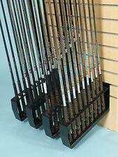 GOLF SHOP  CLUB HOLDER / RETAIL DISPLAY/ SLATWALL/ GRIP CLUB SUPPORT/ FREE POST